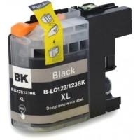 Náplň Brother LC-123BK XL - černá 100% nová - 680 stran