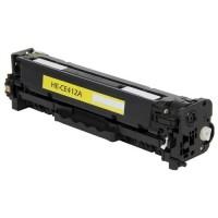 Toner HP 305A - CE412A - žlutý kompatibilní 2800 kopií - česká distribuce